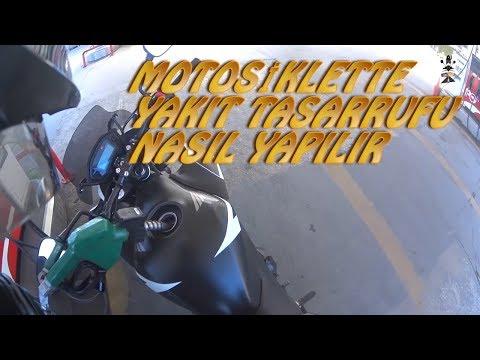 Motosiklette yakıt tasarrufu nasıl yapılır