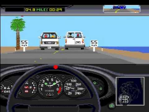 The dual test drive 2 mega drive