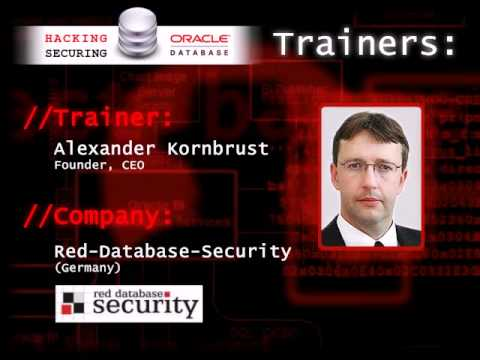 Blackhat Training: Hacking and Securing Oracle Database (11g)
