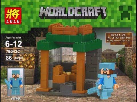 Конструктор Bela (аналог Lego Майнкрафт, Minecraft), №10174 - YouTube