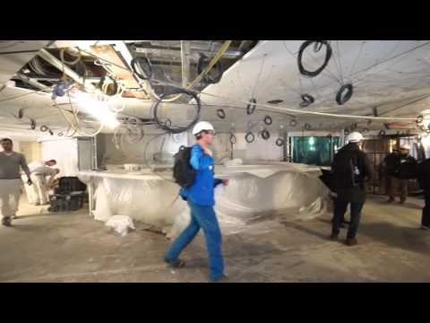 TravelPulse On Board: Harmony of the Seas Shipyard Tour HD