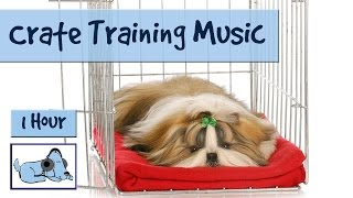Crate Training Made Easy! Use Music To Keep Your Dog Happy In It's Crate!