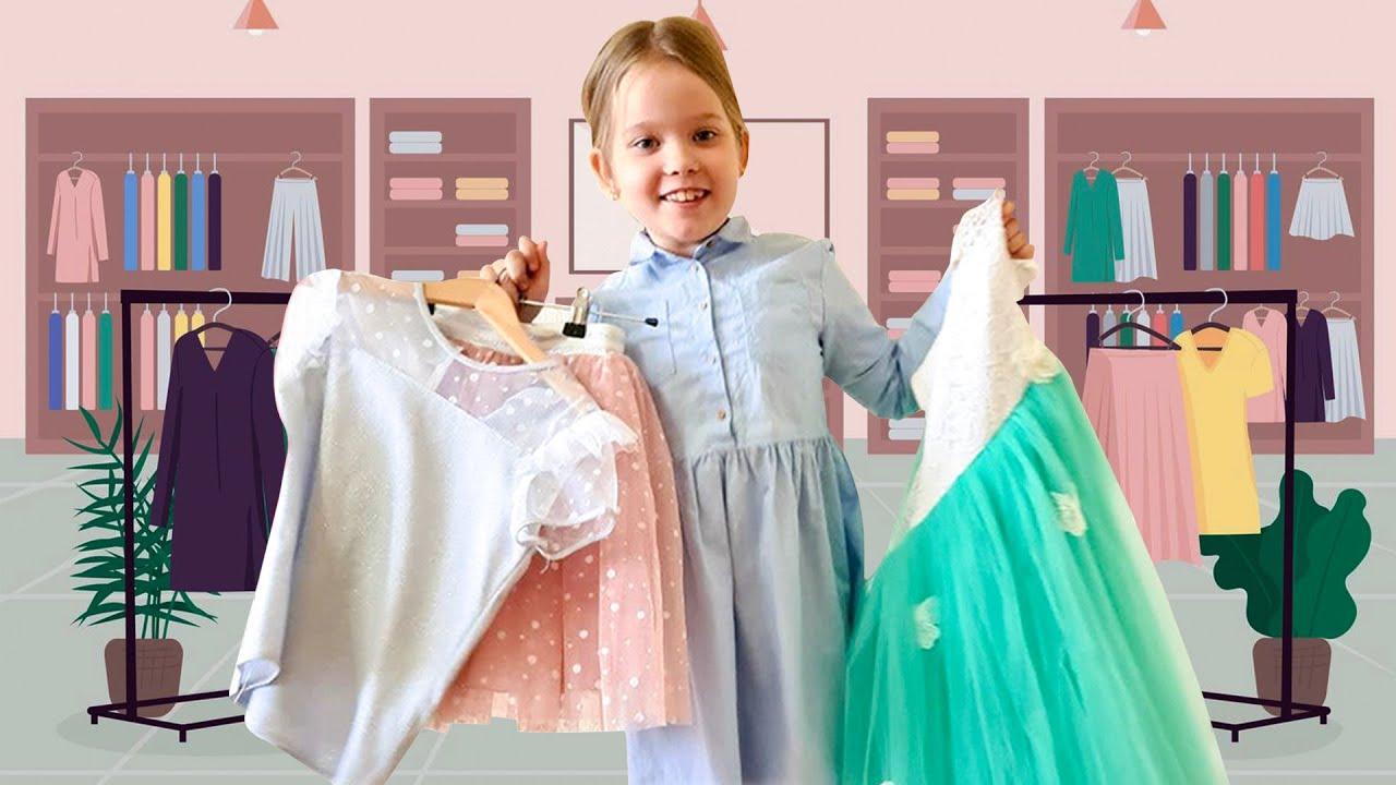 Лера помогает маме и зарабатывает на новые наряды
