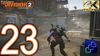 Tom Clancy's The Division 2 PC 4K Walkthrough - Part 23 - World Tier 1: Jefferson Trade Center, Dist