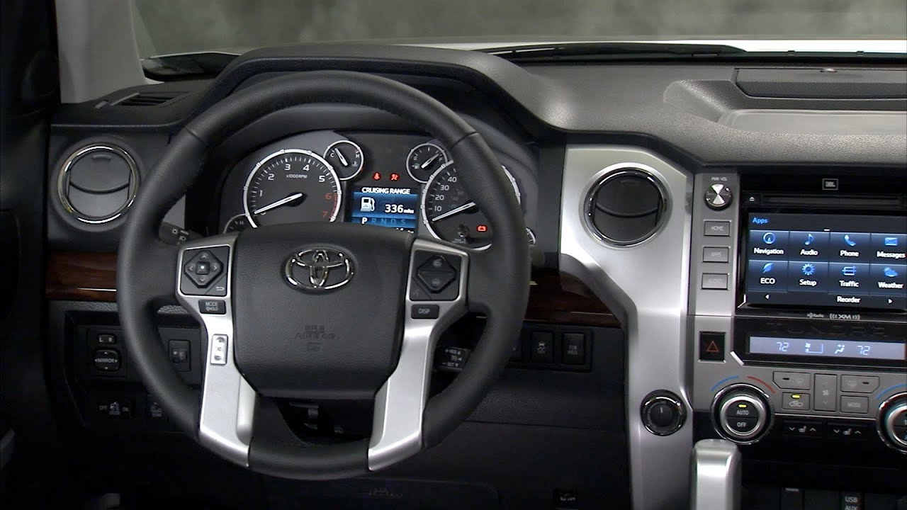 2014 Toyota Tundra INTERIOR (Limited) - YouTube