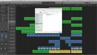 Logic Pro X Tutorial 9: Exporting Audio/Bouncing