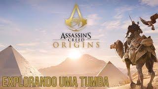 Assassin's Creed Origins - Explorando uma Tumba Perdida!! Gameplay PS4 PTBR