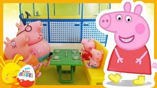 Peppa Pig et George font du Camping Car - Touni Toys Titounis