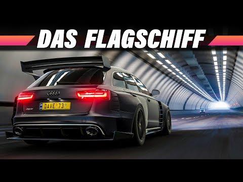 Audi RS6 Avant mit Bodykit – FORZA HORIZON 4 Gameplay German | Lets Play 4K 60FPS Deutsch