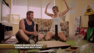 THINGS NEVER SAID BY COUPLES WHILE ASSEMBLING IKEA ITEMS