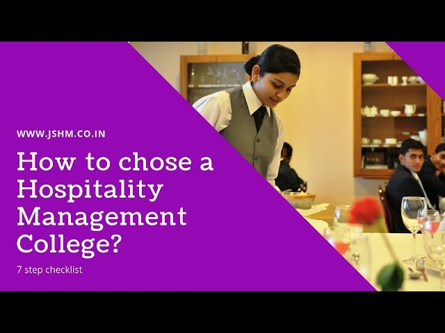 JSHM Videos - Jindal School of Hotel Management
