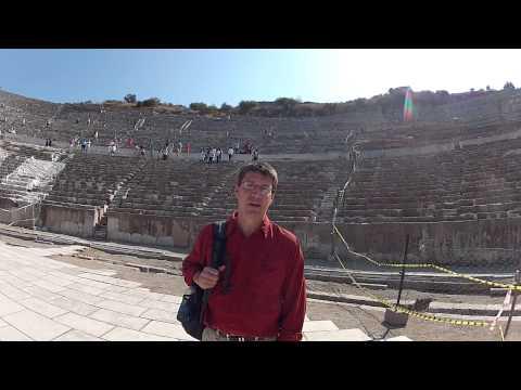 Ephesus Theater Heraclitus Logos