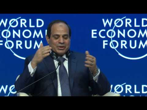 Davos 2015 - Egypt in the World (Arabic)