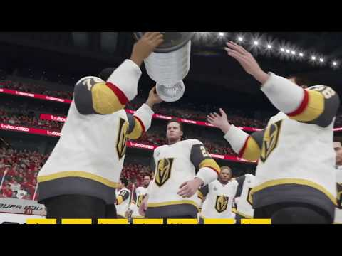 NHL 20 Vegas Knights Stanley Cup Winning Animation