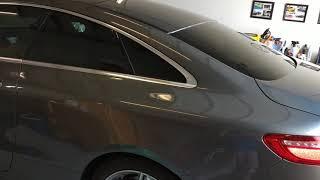 Tint Man Tints 2018 Mercedes E400 Coupe With Nano Carbon Ceramic Window Film  #Vamiretint
