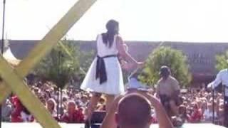 Jordin Sparks Glendale Homecoming Performance 1