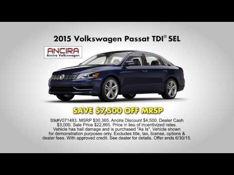 Ancira Volkswagen June Specials Commercial