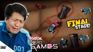 FINAL STAGE SQUID GAME DAN ENDINGNYA TAK TERDUGA!! Roblox Squid Game #3 [DUB INDO] ~All Stage!!