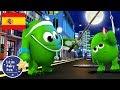 Canciones infantiles cinco monstruitos p 2 dibujos animados little baby bum en español mp3