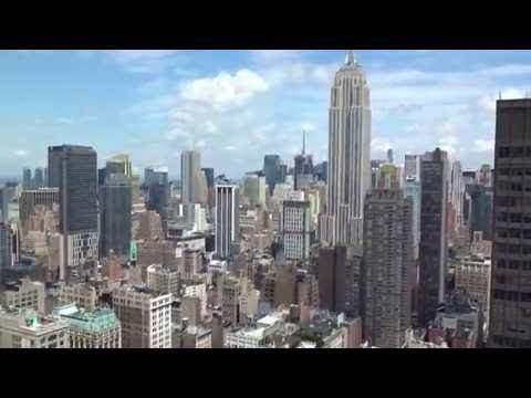 The New York EDITION top floor penthouse room tour and view
