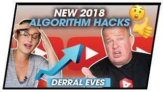 How to get the Youtube ALGORITHM to work in your favor. Feat Derral Eves