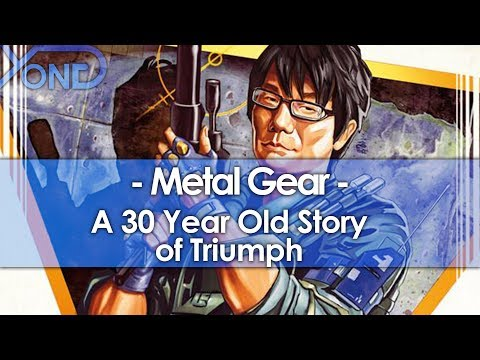 Metal Gear is a 30 Year Old Story of Triumph (30th Anniversary Tribute)