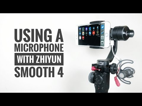 How To Use A Microphone With Zhiyun Smooth 4