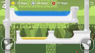 Flappy Golf 2 GRAVITY GROVE HOLE 1-9 Gold Star Walkthrough