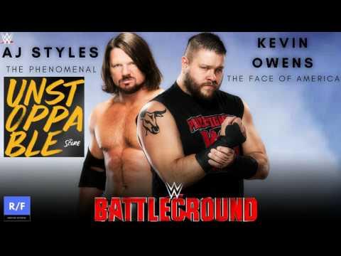 WWE Battleground 2017 Custom Theme Song - The Score - Unstoppable