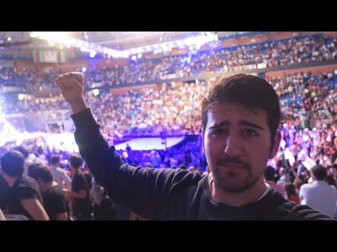 HE IDO A VER LA WWE !!! OMG - EPIC VLOG - ElChurches