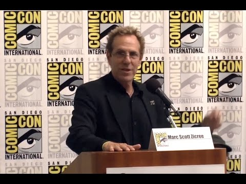 Mr. Sci-Fi and the entire Space Command Panel at Comic-Con