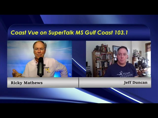 Mayor FoFo Gilich & Jeff Duncan join the conversation on Coast Vue with Ricky Mathews.