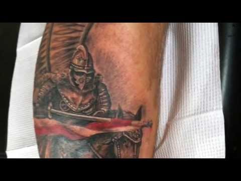 Polish Hussar Tattoo by Artur Szolc
