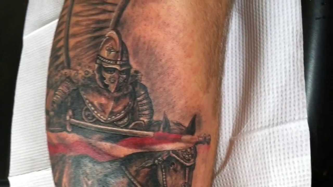 Polish Hussar Tattoo By Artur Szolc By Marek Jot