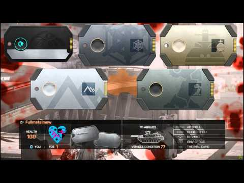 Battlefield 4 | BIPOD KNIFE AND FINAL STAND DOG TAGS??