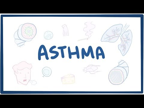 Asthma – causes, symptoms, diagnosis, treatment, pathology