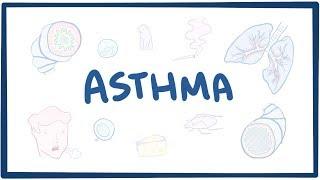 Asthma - causes, symptoms, diagnosis, treatment, pathology