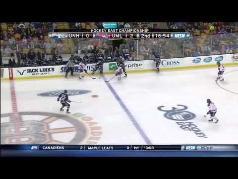 Hockey East Championship - UMass Lowell vs. UNH - 3/22/14