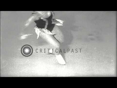 Anna Galmarini of Milan,Italy does figure skating at a ice skating ring in New Yo...HD Stock Footage