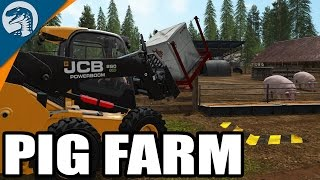 HOG HEAVEN & BROKEN FORKLIFTS | Uncle Sam's Farm | Farming Simulator 17 Gameplay