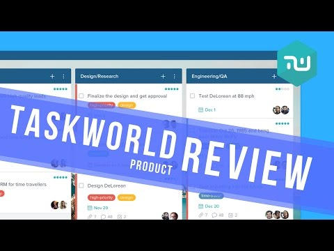 TaskWorld full review | features, pricing & overview
