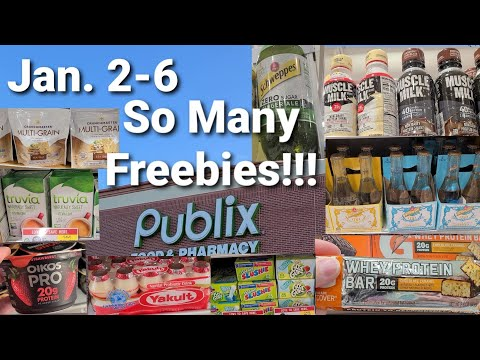Publix Coupon Deals this week/ SO MANY FREE ITEMS!!!