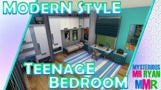 Mmr - The Sims 4 Room Build - Modern Teens Room