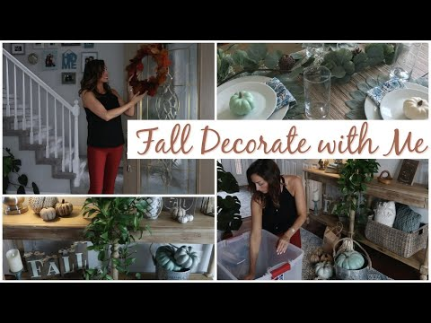 Decorate with Me for Fall + Fall Home Decor Tour