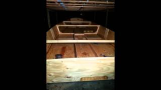 Wooden Boat Build (skiff) 2014-15