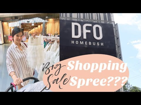What To Do In Sydney - Shopping At DFO Homebush