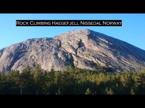 Rock Climbing Haegefjell Nissedal Norway