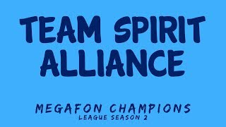 Team Spirit vs Alliance | MegaFon Champions League Season 2