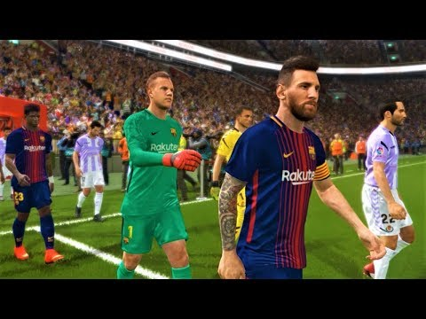 Download Real Valladolid Vs Barcelona 1 3 Full Match