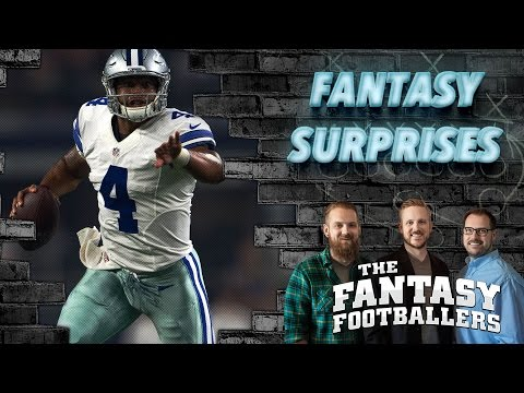 Fantasy Football 2016 - Biggest Surprise, Fantasy Questions, & News - Ep. #253